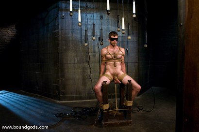Photo number 4 from Master Nick Moretti and slave dante shot for Bound Gods on Kink.com. Featuring Nick Moretti and Dante in hardcore BDSM & Fetish porn.