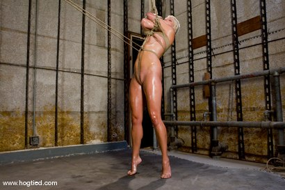 Photo number 2 from Vendetta returns to Hogtied <br> You can only see her exclusively  at Kink. shot for Hogtied on Kink.com. Featuring Vendetta and Claire Adams in hardcore BDSM & Fetish porn.