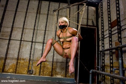 Photo number 12 from Vendetta returns to Hogtied <br> You can only see her exclusively  at Kink. shot for Hogtied on Kink.com. Featuring Vendetta and Claire Adams in hardcore BDSM & Fetish porn.