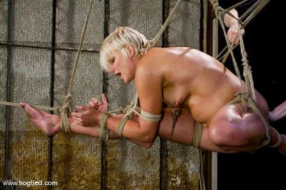 Photo number 3 from Vendetta returns to Hogtied <br> You can only see her exclusively  at Kink. shot for Hogtied on Kink.com. Featuring Vendetta and Claire Adams in hardcore BDSM & Fetish porn.