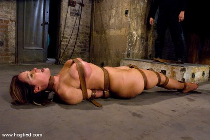 Photo number 13 from Christina Carter is Back! <br> No cuts, no edits, one take. shot for Hogtied on Kink.com. Featuring Christina Carter in hardcore BDSM & Fetish porn.