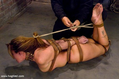 Photo number 14 from Christina Carter is Back! <br> No cuts, no edits, one take. shot for Hogtied on Kink.com. Featuring Christina Carter in hardcore BDSM & Fetish porn.