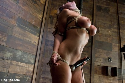 Photo number 15 from BONDAGE TUTORIAL<br> A bonus update to inform members on basic ties and techniques. shot for Hogtied on Kink.com. Featuring Christina Carter in hardcore BDSM & Fetish porn.
