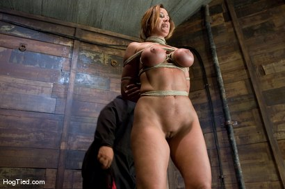 Photo number 9 from BONDAGE TUTORIAL<br> A bonus update to inform members on basic ties and techniques. shot for Hogtied on Kink.com. Featuring Christina Carter in hardcore BDSM & Fetish porn.