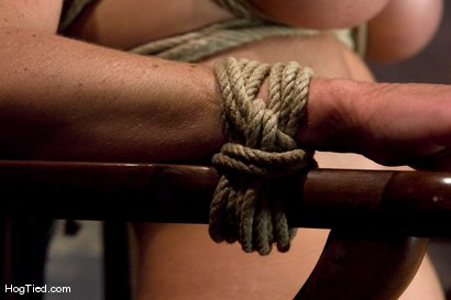 Photo number 13 from BONDAGE TUTORIAL<br> A bonus update to inform members on basic ties and techniques. shot for Hogtied on Kink.com. Featuring Christina Carter in hardcore BDSM & Fetish porn.