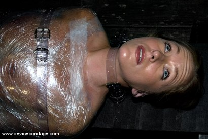 Photo number 3 from Sticky Hot Wrap Trap shot for Device Bondage on Kink.com. Featuring Dia Zerva in hardcore BDSM & Fetish porn.