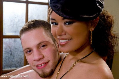 Photo number 15 from Internet Date Pays Off shot for Men In Pain on Kink.com. Featuring Wolf Hudson and Annie Cruz in hardcore BDSM & Fetish porn.