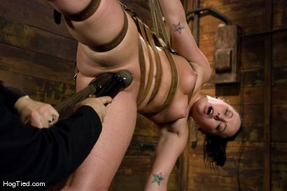 Photo number 9 from Alexa bound and made to come again & again shot for Hogtied on Kink.com. Featuring Lochai and Alexa Von Tess in hardcore BDSM & Fetish porn.