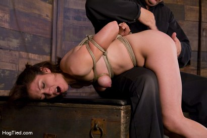 Photo number 8 from Karrlie Dawn's first Hogtied experience. shot for Hogtied on Kink.com. Featuring Karrlie Dawn in hardcore BDSM & Fetish porn.