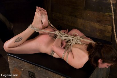 Photo number 9 from Karrlie Dawn's first Hogtied experience. shot for Hogtied on Kink.com. Featuring Karrlie Dawn in hardcore BDSM & Fetish porn.