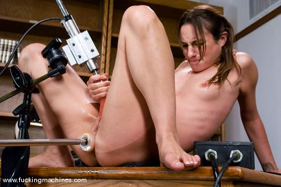 Photo number 14 from Double Penetration, Double Anal - the one and only Amber Rayne shot for Fucking Machines on Kink.com. Featuring Amber Rayne in hardcore BDSM & Fetish porn.