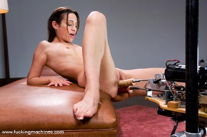 Photo number 3 from Double Penetration, Double Anal - the one and only Amber Rayne shot for Fucking Machines on Kink.com. Featuring Amber Rayne in hardcore BDSM & Fetish porn.