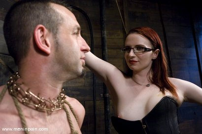 Photo number 10 from Be Careful What You Wish For shot for Men In Pain on Kink.com. Featuring Claire Adams and Jason Miller in hardcore BDSM & Fetish porn.