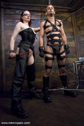 Photo number 3 from Be Careful What You Wish For shot for Men In Pain on Kink.com. Featuring Claire Adams and Jason Miller in hardcore BDSM & Fetish porn.