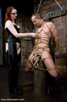 Photo number 5 from Be Careful What You Wish For shot for Men In Pain on Kink.com. Featuring Claire Adams and Jason Miller in hardcore BDSM & Fetish porn.