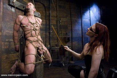 Photo number 6 from Be Careful What You Wish For shot for Men In Pain on Kink.com. Featuring Claire Adams and Jason Miller in hardcore BDSM & Fetish porn.