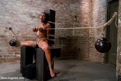 Photo number 10 from WARNING FOR ALL HOGTIED MEMBERS:<BR> Most intense orgasms in bondage we have ever shot. shot for Hogtied on Kink.com. Featuring Charley Chase and Lochai in hardcore BDSM & Fetish porn.