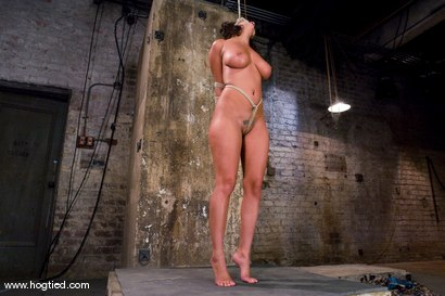 Photo number 3 from WARNING FOR ALL HOGTIED MEMBERS:<BR> Most intense orgasms in bondage we have ever shot. shot for Hogtied on Kink.com. Featuring Charley Chase and Lochai in hardcore BDSM & Fetish porn.