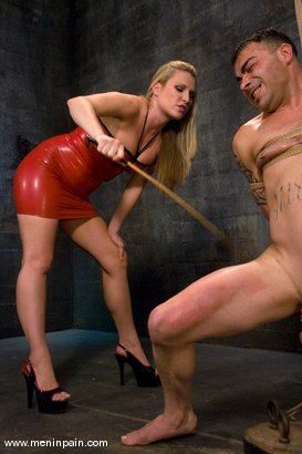 Photo number 2 from Cruel Mistress shot for Men In Pain on Kink.com. Featuring Rico and Harmony in hardcore BDSM & Fetish porn.