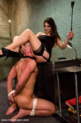 Photo number 7 from Another Day at the Office shot for Men In Pain on Kink.com. Featuring Bobbi Starr and Chad Rock in hardcore BDSM & Fetish porn.