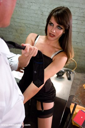 Photo number 1 from Another Day at the Office shot for Men In Pain on Kink.com. Featuring Bobbi Starr and Chad Rock in hardcore BDSM & Fetish porn.