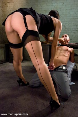 Photo number 4 from Another Day at the Office shot for Men In Pain on Kink.com. Featuring Bobbi Starr and Chad Rock in hardcore BDSM & Fetish porn.