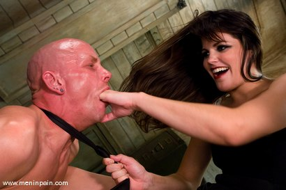 Photo number 5 from Another Day at the Office shot for Men In Pain on Kink.com. Featuring Bobbi Starr and Chad Rock in hardcore BDSM & Fetish porn.