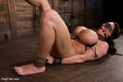 Photo number 13 from There are big tits and then there is MASSIVE!<br>Welcome Lisa Lipps to her first bondage scene ever. shot for Hogtied on Kink.com. Featuring Lisa Lipps in hardcore BDSM & Fetish porn.