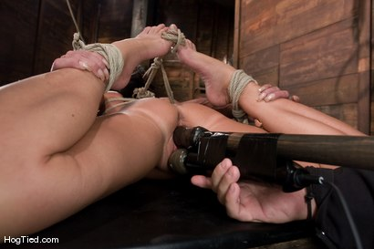 Photo number 8 from There are big tits and then there is MASSIVE!<br>Welcome Lisa Lipps to her first bondage scene ever. shot for Hogtied on Kink.com. Featuring Lisa Lipps in hardcore BDSM & Fetish porn.