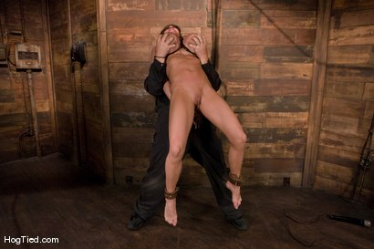 Photo number 11 from There are big tits and then there is MASSIVE!<br>Welcome Lisa Lipps to her first bondage scene ever. shot for Hogtied on Kink.com. Featuring Lisa Lipps in hardcore BDSM & Fetish porn.