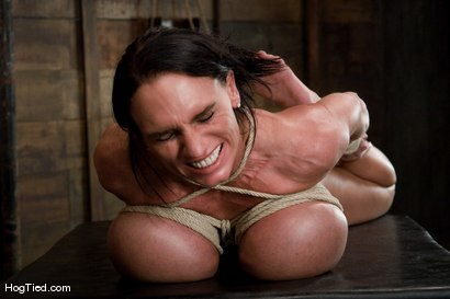 Photo number 9 from There are big tits and then there is MASSIVE!<br>Welcome Lisa Lipps to her first bondage scene ever. shot for Hogtied on Kink.com. Featuring Lisa Lipps in hardcore BDSM & Fetish porn.