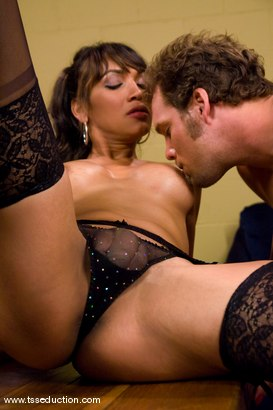 Photo number 6 from Yasmin Lee, Rocky shot for TS Seduction on Kink.com. Featuring Yasmin Lee and Rocky in hardcore BDSM & Fetish porn.