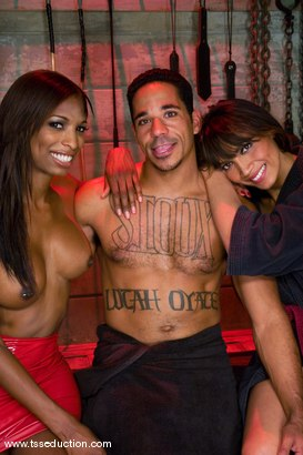 Photo number 13 from Yasmin Lee, Natassia Dream & Lobo shot for TS Seduction on Kink.com. Featuring Yasmin Lee, Natassia Dreams and Lobo in hardcore BDSM & Fetish porn.