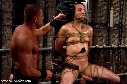 Photo number 5 from Master Tyler Saint and slave jason miller shot for Bound Gods on Kink.com. Featuring Jason Miller and Tyler Saint in hardcore BDSM & Fetish porn.