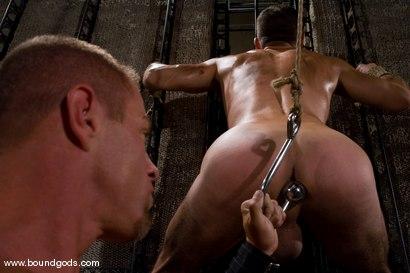 Photo number 3 from Master Tyler Saint and slave jason miller shot for Bound Gods on Kink.com. Featuring Jason Miller and Tyler Saint in hardcore BDSM & Fetish porn.