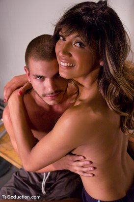 Photo number 15 from Yasmin Lee, Tristan Mathews shot for TS Seduction on Kink.com. Featuring Yasmin Lee and Tristan Mathews in hardcore BDSM & Fetish porn.