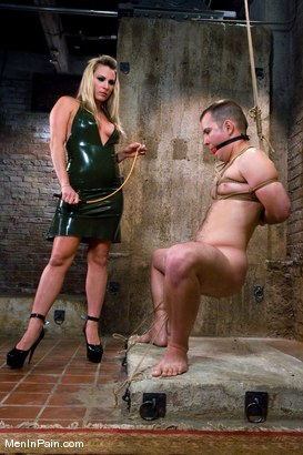 Photo number 1 from Breaking in Newbies shot for Men In Pain on Kink.com. Featuring Harmony and Kidd Jessie in hardcore BDSM & Fetish porn.