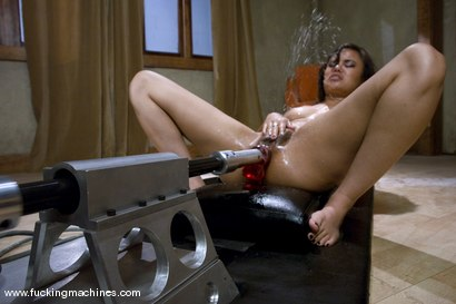 Photo number 11 from SQUIRT FEST 2008 - WELCOME BACK ANNIE CRUZ shot for Fucking Machines on Kink.com. Featuring Annie Cruz in hardcore BDSM & Fetish porn.
