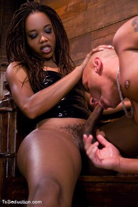 Photo number 7 from Nyobi Khan in Latex shot for TS Seduction on Kink.com. Featuring Nyobi Khan and Diezel in hardcore BDSM & Fetish porn.