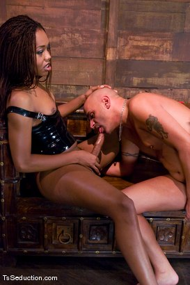 Photo number 9 from Nyobi Khan in Latex shot for TS Seduction on Kink.com. Featuring Nyobi Khan and Diezel in hardcore BDSM & Fetish porn.