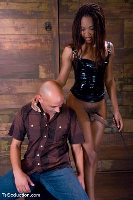 Photo number 3 from Nyobi Khan in Latex shot for TS Seduction on Kink.com. Featuring Nyobi Khan and Diezel in hardcore BDSM & Fetish porn.