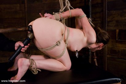 Photo number 9 from Isobel Wren makes her first<br>Hogtied appearance shot for Hogtied on Kink.com. Featuring Isobel Wren and Lochai in hardcore BDSM & Fetish porn.