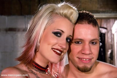 Photo number 15 from Kimberly Kane's First Time shot for Men In Pain on Kink.com. Featuring Wolf Hudson and Kimberly Kane in hardcore BDSM & Fetish porn.