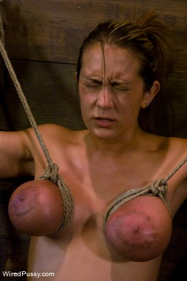 Photo number 7 from Trina Michaels gets her huge tits tied and wired! shot for Wired Pussy on Kink.com. Featuring Trina Michaels and Annie Cruz in hardcore BDSM & Fetish porn.