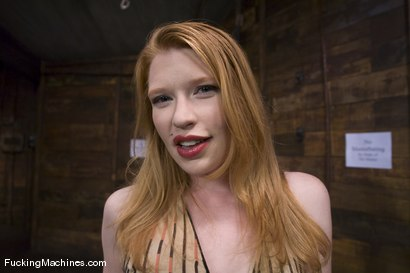 Photo number 1 from Don't touch that button - Madison Young shot for Fucking Machines on Kink.com. Featuring Madison Young in hardcore BDSM & Fetish porn.
