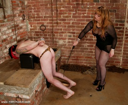 Photo number 3 from Gabrielle and Brandon shot for Men In Pain on Kink.com. Featuring Gabrielle and Brandon in hardcore BDSM & Fetish porn.