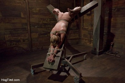 Photo number 4 from Lexi Belle: Pain is her pleasure shot for Hogtied on Kink.com. Featuring Lexi Belle in hardcore BDSM & Fetish porn.