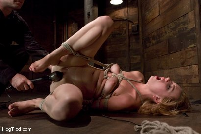 Photo number 11 from Lexi Belle: Pain is her pleasure shot for Hogtied on Kink.com. Featuring Lexi Belle in hardcore BDSM & Fetish porn.