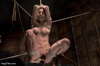 Photo number 14 from Lexi Belle: Pain is her pleasure shot for Hogtied on Kink.com. Featuring Lexi Belle in hardcore BDSM & Fetish porn.