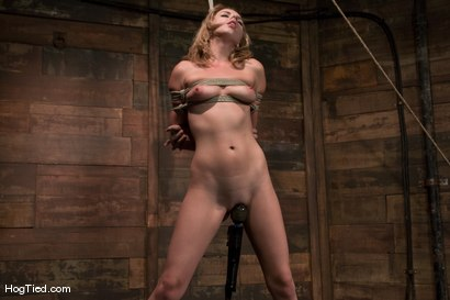 Photo number 2 from Lexi Belle: Pain is her pleasure shot for Hogtied on Kink.com. Featuring Lexi Belle in hardcore BDSM & Fetish porn.